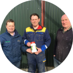 Ian & Jonathan Stewart - Dairy Farmers, Antrim